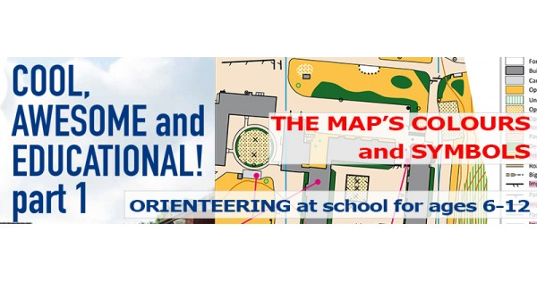 Orienteering At School For Ages 6 12 Chapter 10 The Maps Colours