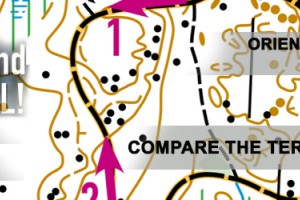 Orienteering at school or ages 13-15, APPENDIX: COMPARE THE TERRAIN TO THE MAP