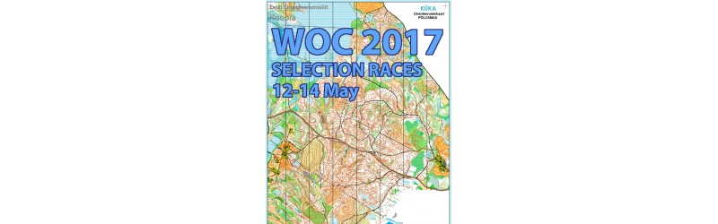 WOC 2017 Selection Races