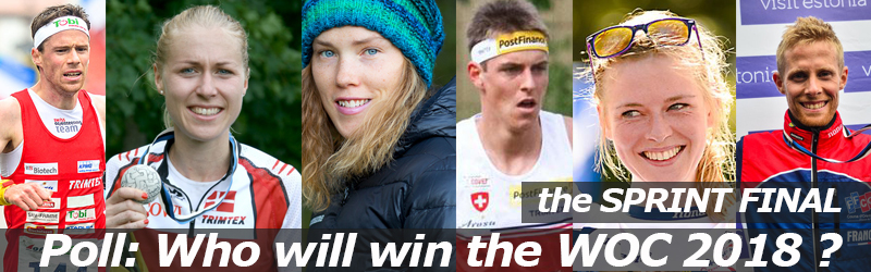 VOTE: Who will win the SPRINT FINAL of WOC2018 ?