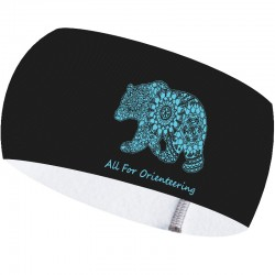 Arctic Galaxy Bear headband