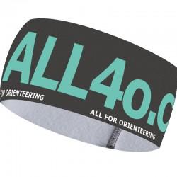 Galaxy Aqua Wide headband