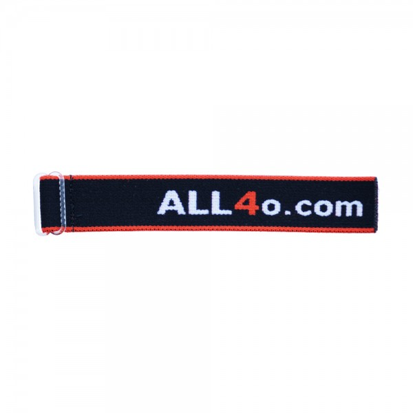 Elastic band for compass with ALL4o logo