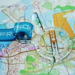 FRENSON ELITE RACING thumb compass for orienteering