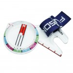 FRENSON X-FOREST COLORS thumb compass for orienteering, adventure racing, rogaining, hiking