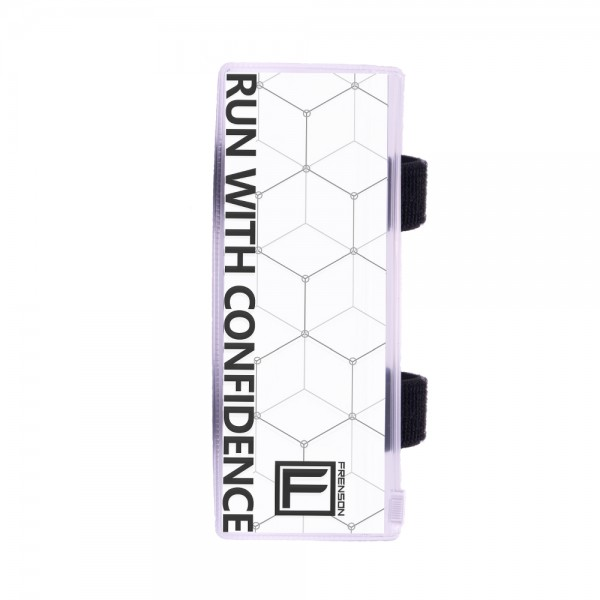 FRENSON F-SERIES White control description holder for orienteering, Large
