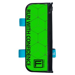 FRENSON F-SERIES Kelly Green control description holder for orienteering, Large