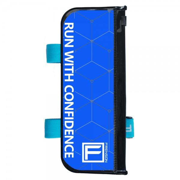 FRENSON F-SERIES Sky Blue control description holder for orienteering, Large
