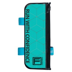 FRENSON F-SERIES Teal control description holder for orienteering, Large