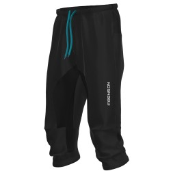 FRENSON MOTION 3/4 orienteering nylon pants, black