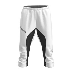 FRENSON MOTION 3/4 orienteering nylon pants, white