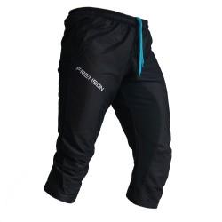 FRENSON MOTION 3/4 orienteering nylon pants, black