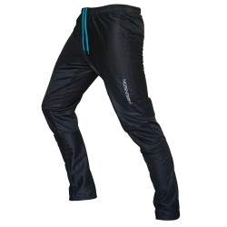 FRENSON MOTION Long orienteering nylon pants, black