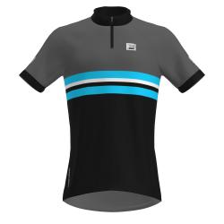 FRENSON PRO SERIES Men's O-Shirt, Black/Grey