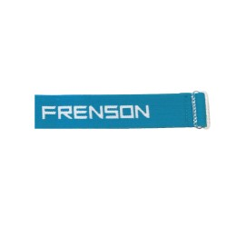 Strap for SPORTident or compass with FRENSON logo, ocean blue