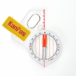 KanPas Elite Competition MA-43- FS orientēšanās kompass, Degrees
