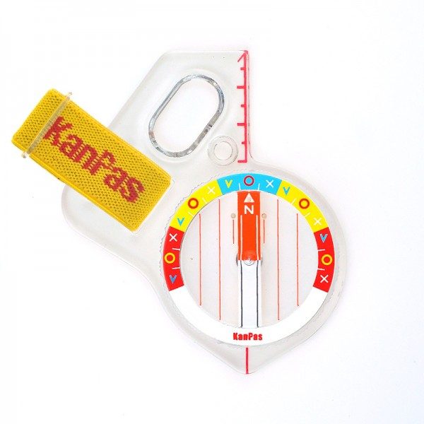 KanPas Elite Competition MA-43- FS orienteering compass , Rainbow