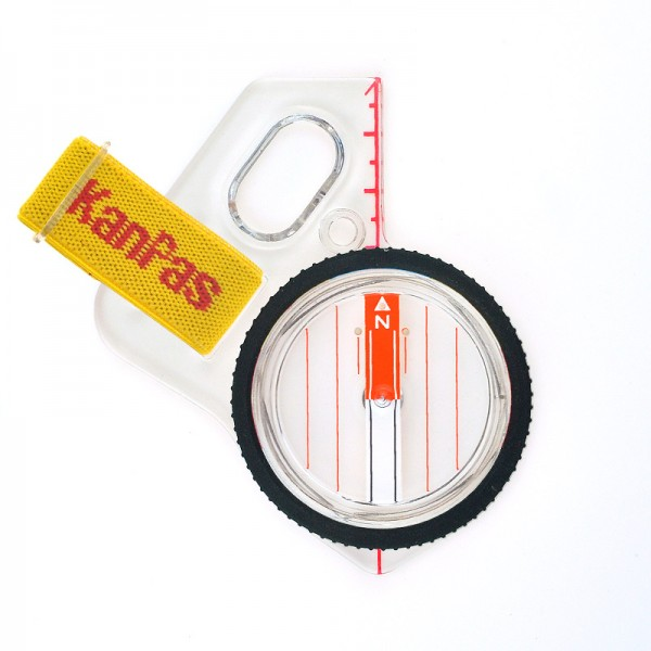 KanPas Elite Competition MA-43- FS orienteering compass , clear dial