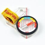 KanPas Elite Competition MA-43- FS orienteering compass , Rainbow