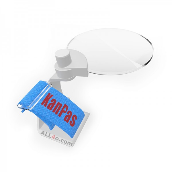 KANPAS magnifying glass, compatible with all thumb compasses (diameter 62mm)