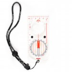 KanPas Elite baseplate orienteering compass with magnifier MAG-43-F , DEGREE DIAL
