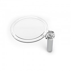 Magnifying glass for Moscompass