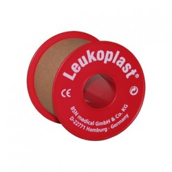 Leukoplast tape with plastic inside roll 9.2m x 5cm