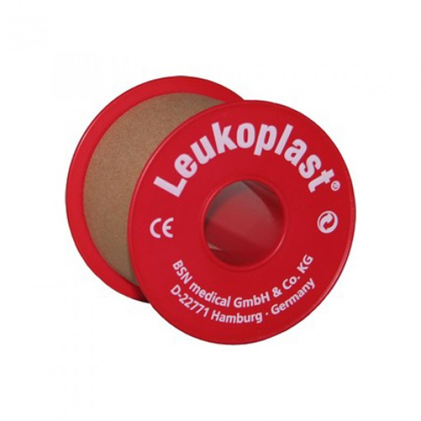 Leukoplast tape with plastic inside roll 9.2m x 5cm