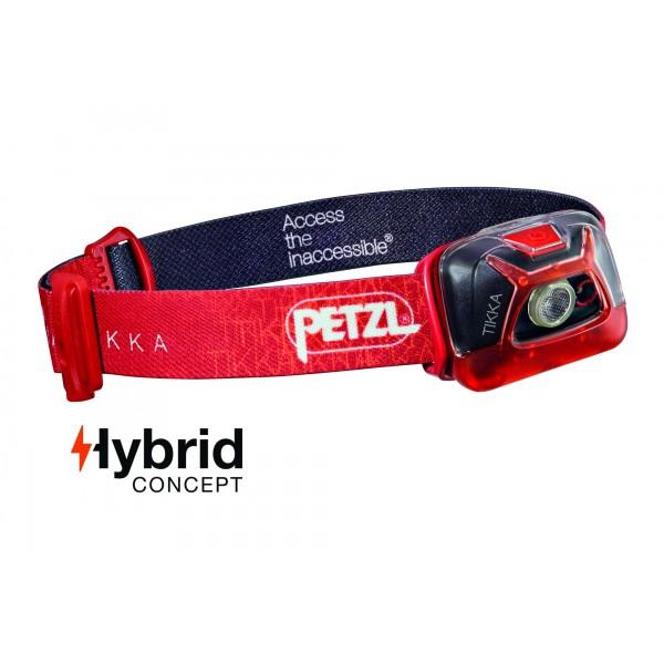 Lampe Frontale Petzl Tikka Hybrid 200lm Phares All4o Com