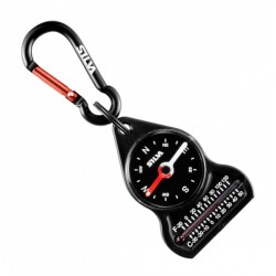 Silva Model 10 Carabiner compass with thermometer