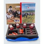 SPORTident School and Training Set, with 20 SI-Card 8 chips