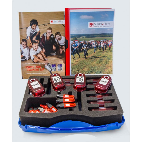 SPORTident School and Training Set, with 30 SI-Card8 chips