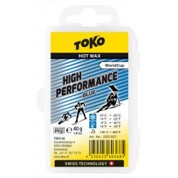 TOKO High Performance Hot Wax blue, 40g