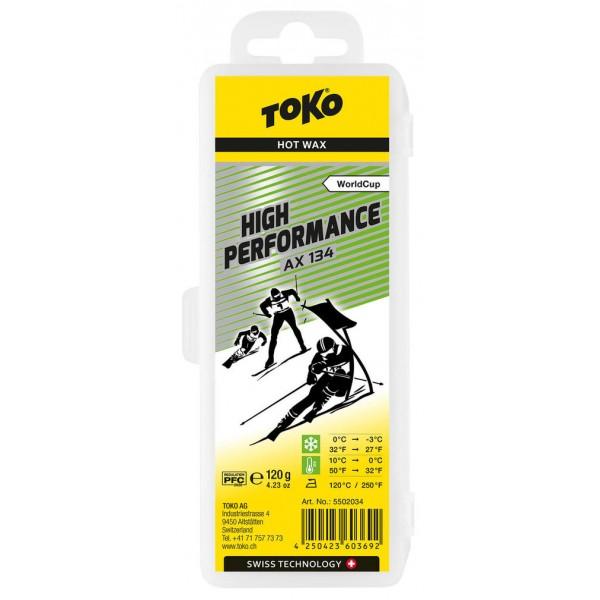 TOKO High Performance Hot Wax AX 134, 120g