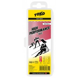 TOKO High Performance Hot Wax red, 120g