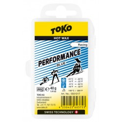 TOKO Performance Hot Wax blue, 40g