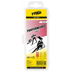 TOKO Performance Hot Wax red, 120g