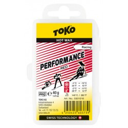 TOKO Performance Hot Wax red, 40g