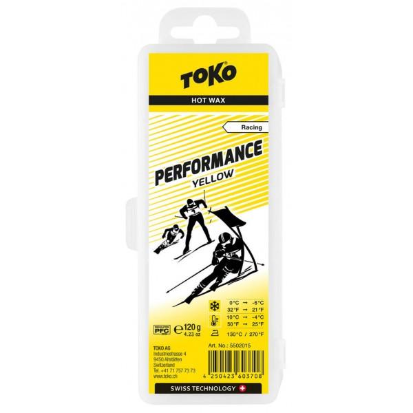 TOKO Performance Hot Wax yellow, 120g