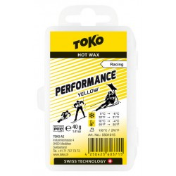 TOKO Performance Hot Wax yellow, 40g