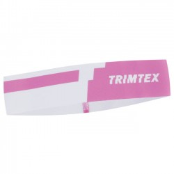 TRIMTEX SPEED Headband, for orienteering, Rosa/White