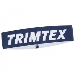 TRIMTEX SPEED Headband, for orienteering and running, Midnight Brush/Estate Blue