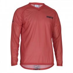 Trimtex O-Shirt basic LS Magma