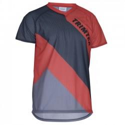 Trimtex O-Shirt basic SS orientēšanās krekls, steel blue/magma
