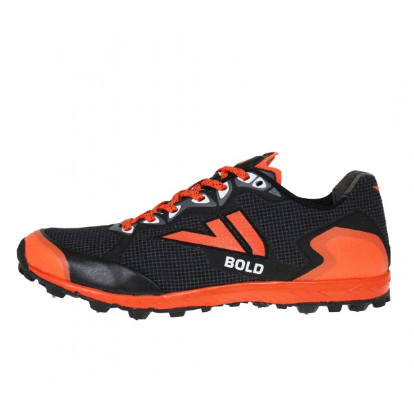 VJ BOLD X orienteering shoes, with metal spikes
