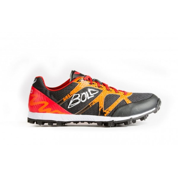 VJ Bold 8 orienteering shoes, with metal spikes