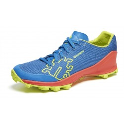 Icebug Zeal2 OLX off-trail running shoes, Ocean/Papaya