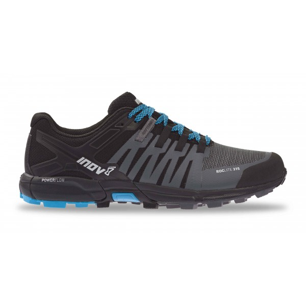 Inov-8 ROCLITE 315 running shoes, Grey/Black/Blue