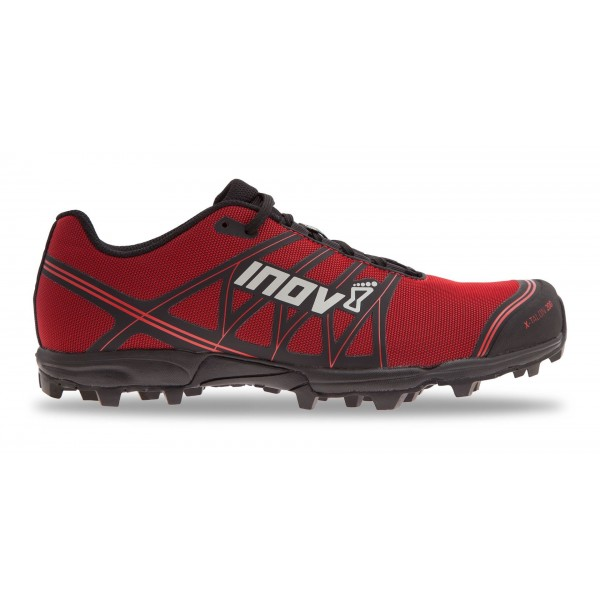 INOV-8 X-TALON 200 Men's and Women's trail running shoe, black/red