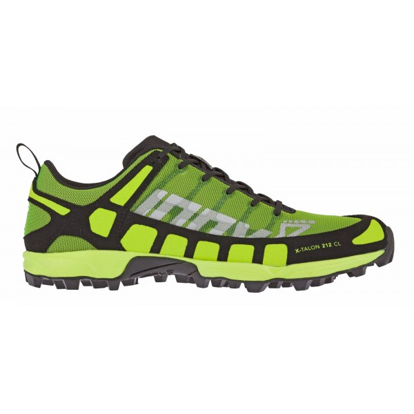 Inov-8 X-Talon 212 Black/Yellow CL orienteering shoes